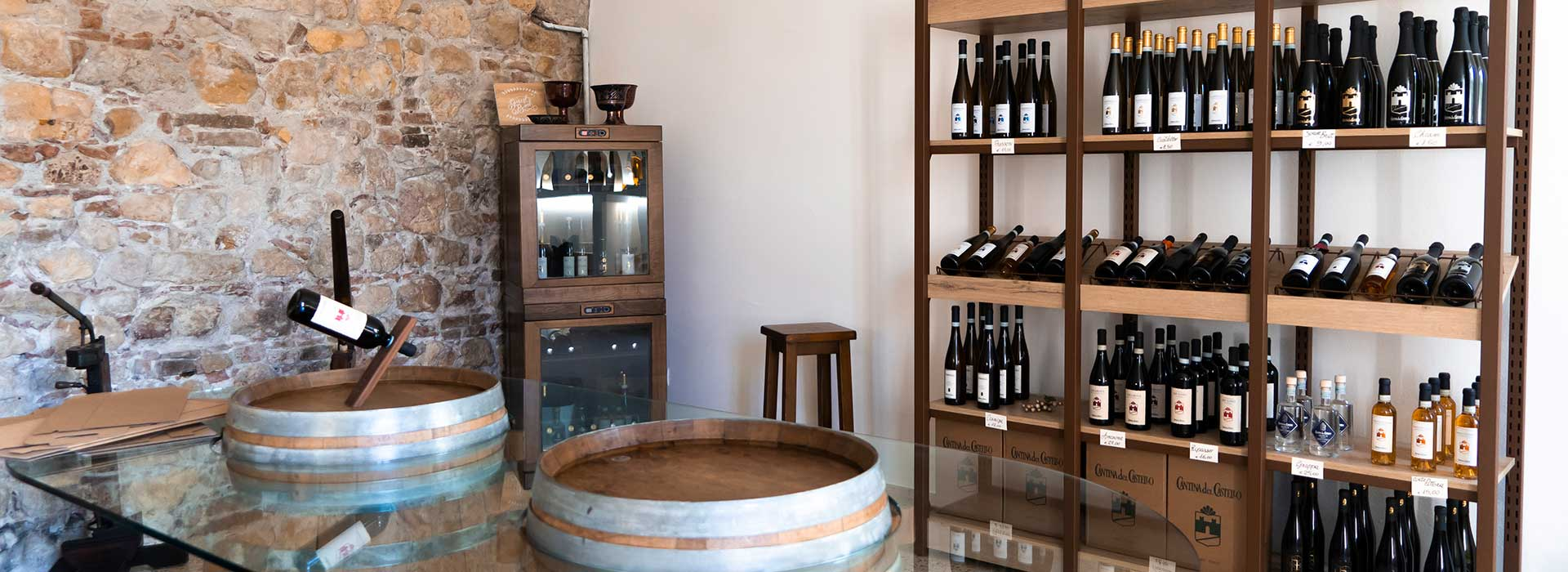 Cantina del Castello - wineshop